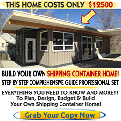 build own container home