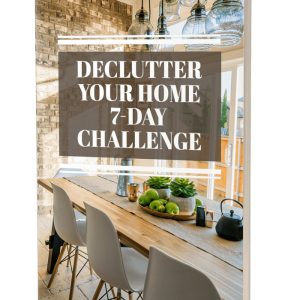Here's How To Declutter Your Home in 7 Days…